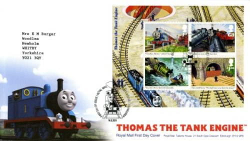 2011 Thomas Tank Engine MS Cover