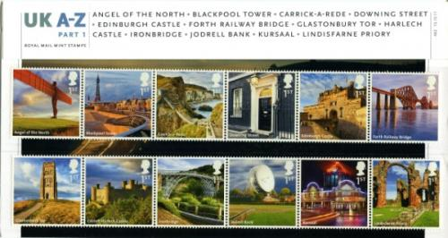 2011 UK A-Z Part 1 pack