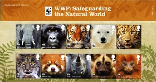 2011 Wildlife Fund + miniature sheet pack