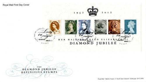 2012 6th February Diamond Jubilee Definitives