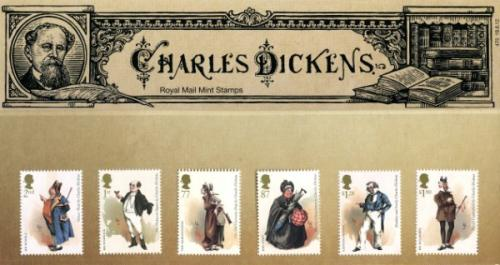 2012 Charles Dickens including miniature sheet pack
