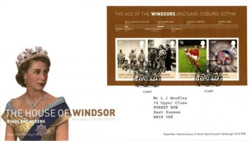 2012 House of Windsor MS