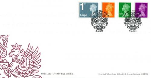 2012 New Definitives set of 4