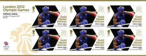 2012 Olympic Games Anthony Joshua Boxing Super Heavy Weight MS