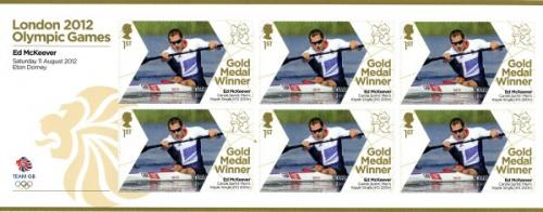 2012 Olympic Games Ed McKeever Canoe 200m Sprint MS
