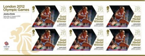 2012 Olympic Games Jessic Ennis Womens Heptathlon MS