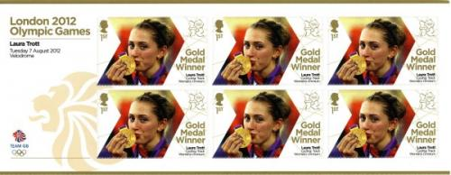 2012 Olympic Games Laura Trott Cycling Womens Omnium MS