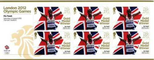 2012 Olympic Games Mo Farah 10,000m Track MS