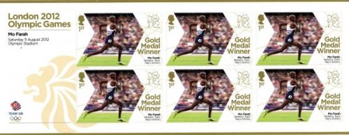 2012 Olympic Games Mo Farah Mens 5000m Track MS