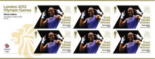 2012 Olympic Games Nichola Adams Boxing Womens Fly Weight MS