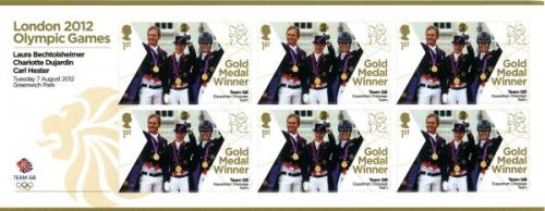 2012 Olympic Games Team GB Equestrian Dressage MS