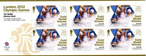 2012 Olympic Games Team GB Mens Canoe Doubles MS