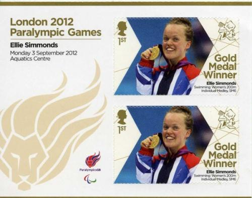 2012 Paralympic Games Ellie Simmonds Womens 200m Swimming MS