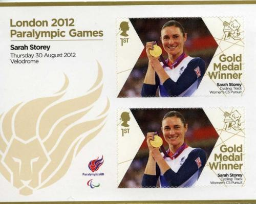 2012 Paralympic Games Sarah Storey Cycling Womens Pursuit MS