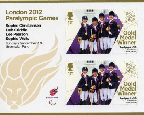 2012 Paralympic Games Team GB Equestrian MS