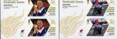 2012 Paralympic Games set of 34 miniatures sheets