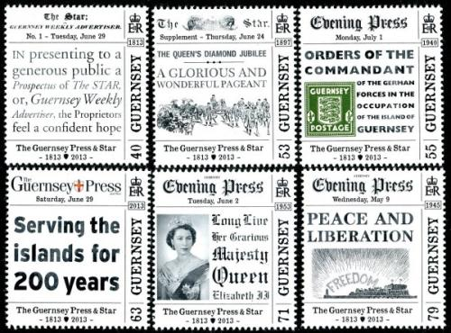 2013 Bicentenary of the Guernsey Press & Star