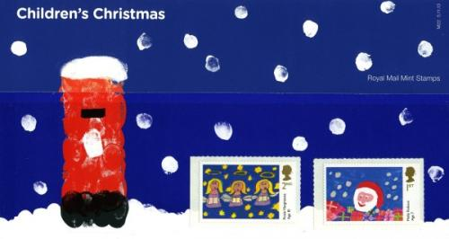 2013 Christmas Childrens Stamps pack