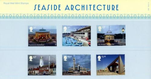 2014 British Seaside pack includes miniature sheet as well