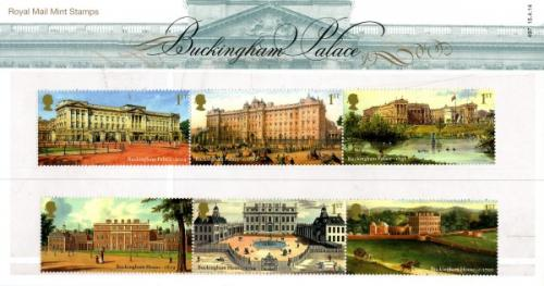 2014 Buckingham Palace pack includes miniature sheet as well