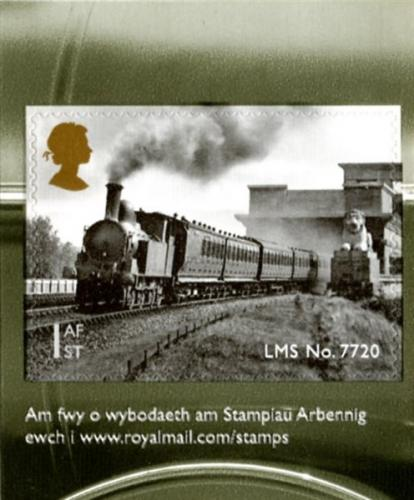 2014 Classic Locomotives of Wales self adhesive