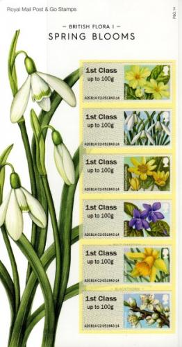 2014 Post & Go Spring Blooms pack