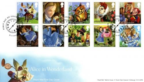 2015 Alice in Wonderland