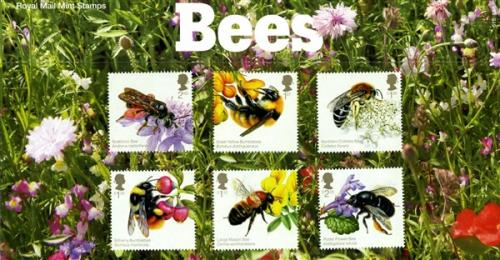 2015 Bees pack includes miniature sheet as well