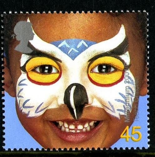 2001 Child Face Painting 45p