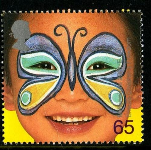 2001 Child Face Painting 65p
