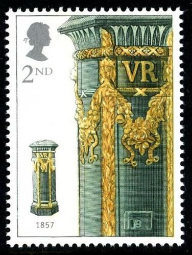 2002 Pillar Boxes 2nd