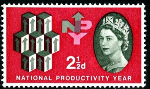 1962 Productivity 2½d phos