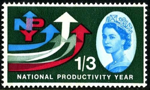 1962 Productivity 1s 3d phos