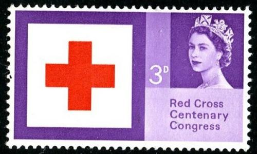 1963 Red Cross 3d