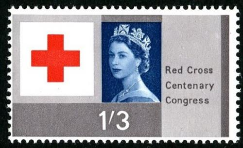 1963 Red Cross 1s 3d