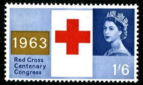 1963 Red Cross 1s 6d