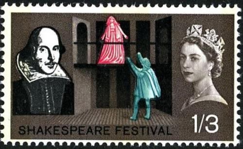 1964 Shakespeare 1s 3d phos