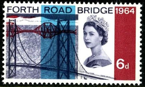 1964 Fourth Bridge 6d phos