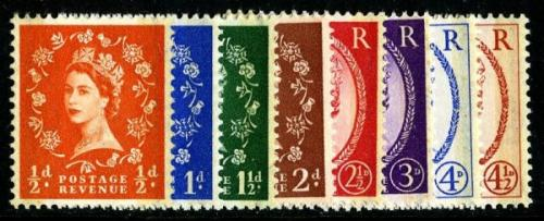 8 set of 1959 Phoshor Graphites