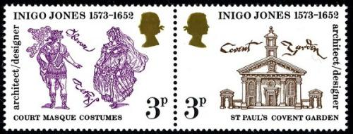 1973 Inigo Jones 3p strip