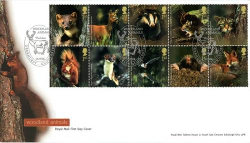 2004 Woodland Animals