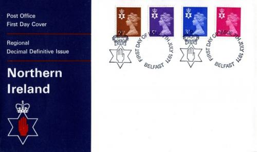 Northern Ireland 1971 7th July Belfast CDS post office cover