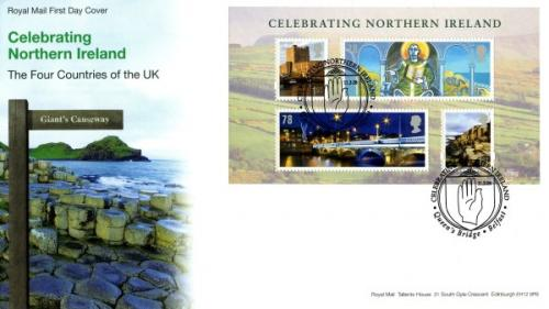 Northern Ireland 2008 11th March  Celebrating Northern Ireland Queens Bridge Belfast CDS royal mail cover