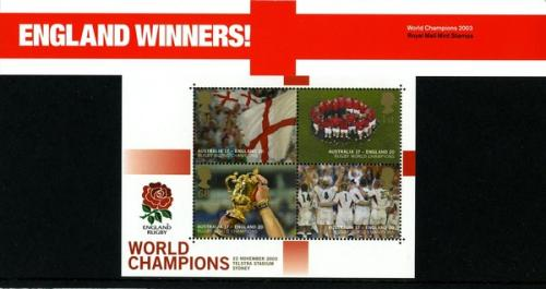 2003 Rugby World Cup MS pack