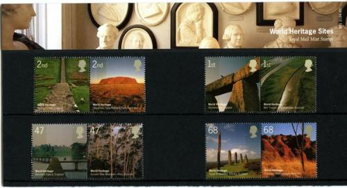 2005 World Heritage Sites pack