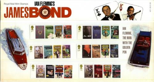 2008 James Bond pack