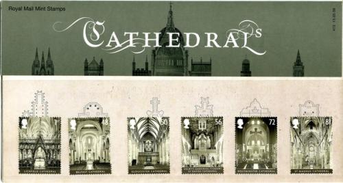 2008 Cathedrals includes miniature sheet pack