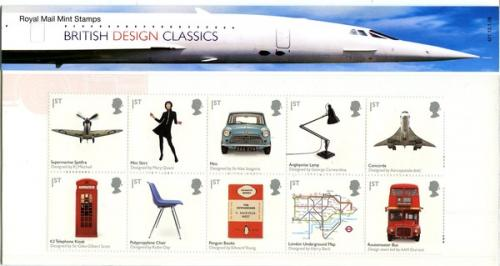 2009 British Design Classics pack