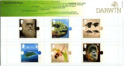 2009 Darwin SA includes miniature sheet pack