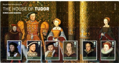 2009 Tudors includes miniature sheet pack